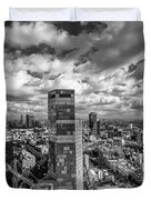 Tel Aviv High And Above Duvet Cover