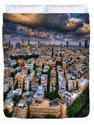 Tel Aviv Lookout Duvet Cover