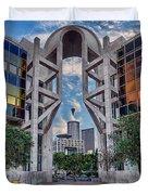 Tel Aviv Performing Arts Center Duvet Cover