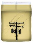 Telephone Pole 1 Duvet Cover