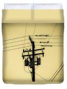 Telephone Pole 4 Duvet Cover