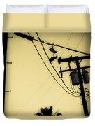 Telephone Pole 8 Duvet Cover