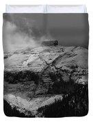 Tempest On Teapot Mountain Duvet Cover