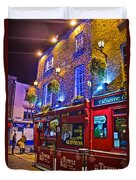 The Temple Bar Pub Dublin Ireland Duvet Cover