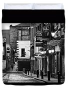 Temple Bar / Dublin Duvet Cover