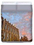 Temple High Duvet Cover