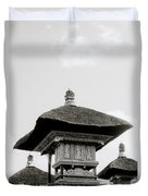 Temple In Ubud Duvet Cover
