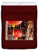 Temple Lanterns 01 Duvet Cover