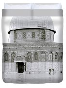 Temple Mount Duvet Cover
