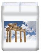 Temple Of Apollo Duvet Cover