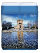 Temple Of Debod Duvet Cover
