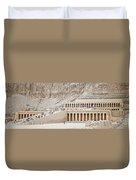 Temple Of Hatsepsut In Egypt Duvet Cover