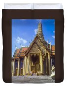 Temple Of The Emerald Buddha Duvet Cover
