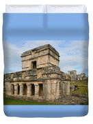 Temple Of The Frescoes Duvet Cover