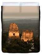 Temples 1 And 2 -  #3 Duvet Cover