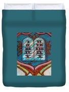 Ten Commandments Glass Duvet Cover