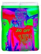 Ten Dollars Off Duvet Cover
