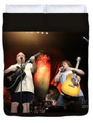 Tenacious D - Kyle Gas And Jack Black Duvet Cover