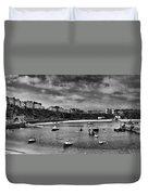 Tenby Panorama Mono 2 Duvet Cover