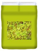 Tender Fresh Green Moss Background Texture Pattern Duvet Cover