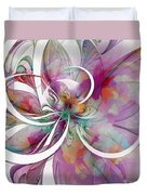 Tendrils 01 Duvet Cover