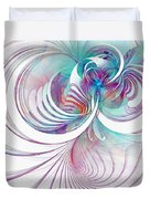 Tendrils 02 Duvet Cover by Amanda Moore