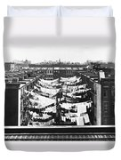 Tenement Housing Laundry Duvet Cover