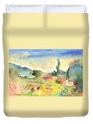 Tenerife Landscape 01 Duvet Cover