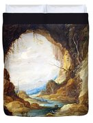 Teniers' Vista From A Grotto Duvet Cover