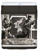 Tennessee Korean War Memorial Duvet Cover by Dan Sproul