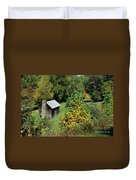 Tennessee Mountain Cabin Duvet Cover