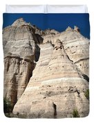 Tent Rocks 1 Duvet Cover