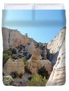 Tent Rocks 8 Duvet Cover