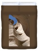 Tent Rocks Duvet Cover