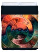 Tequila Sunrise Duvet Cover by Anthony Morris