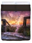Tequilla Sunrise Duvet Cover