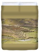Terraces And Paddy Fields Duvet Cover