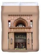 Terracotta Building Duvet Cover