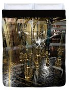 Tesla Power Generator Duvet Cover by James Christopher Hill