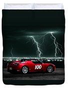 Tesla Duvet Cover