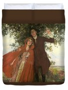 Tess Of The D'urbervilles Or The Elopement Duvet Cover