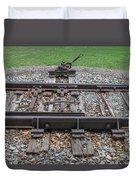 Switch Tracks Duvet Cover