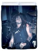 Testament - Chuck Billy Duvet Cover