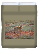 Teton Coyote Duvet Cover