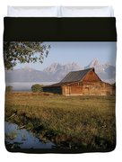 Teton Morning Magic Duvet Cover