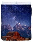 Teton Nights Duvet Cover