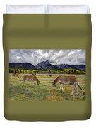 Teton Pastorale Duvet Cover