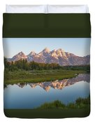 Teton Reflecting Duvet Cover