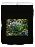 Teton Widflowers  Duvet Cover