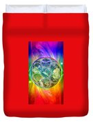 Tetra64 Polarity Earth Duvet Cover